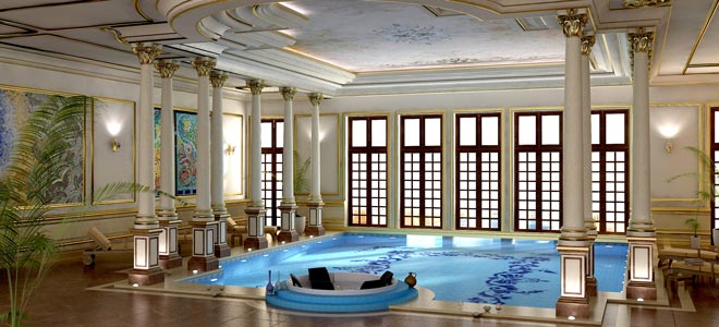 INTERIORS - VIP Villa Pool